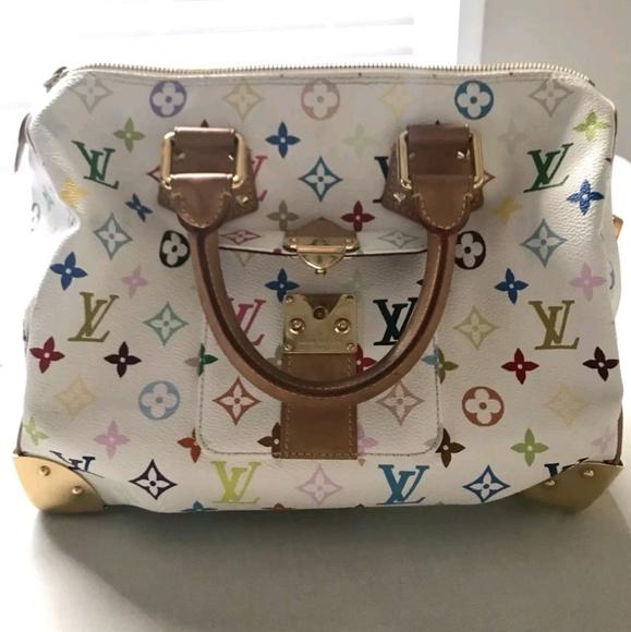 c81cff86e4b0 Louis Vuitton Handbags - Louis Vuitton Murakami X Speedy 30 Multicolor